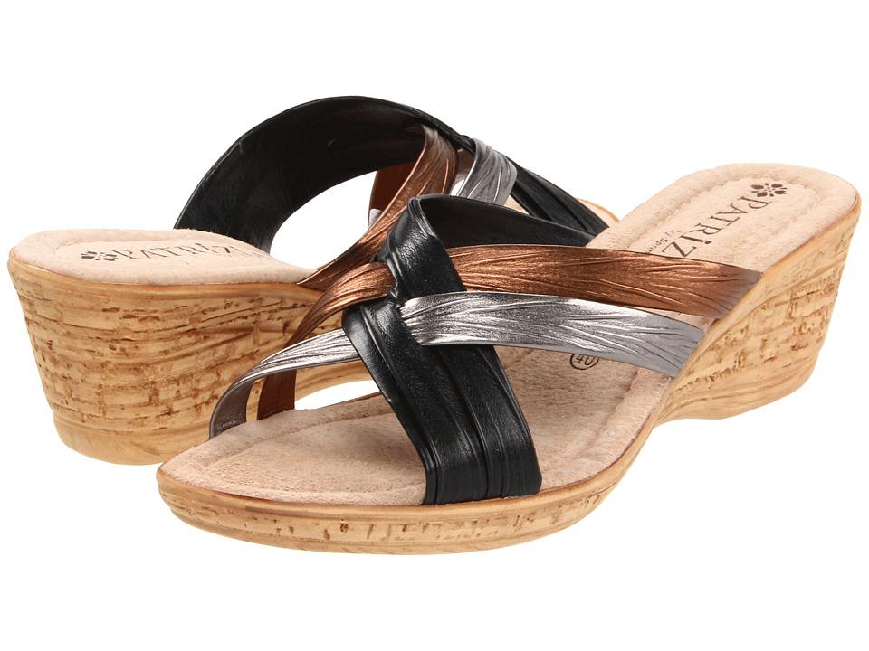 PATRIZIA - Apple (Black) Women's Wedge Shoes