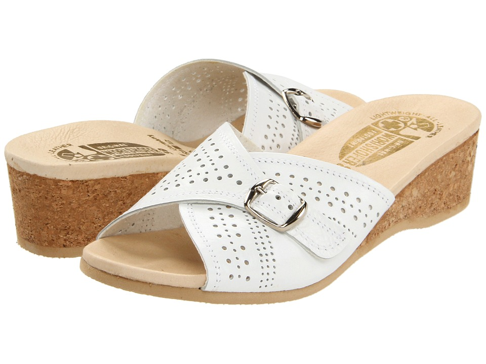 Worishofer - 251 (White Leather) Women's Sandals