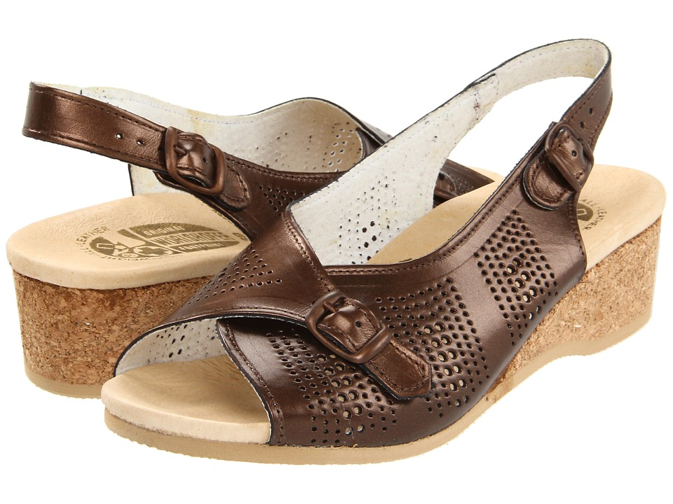Worishofer - 562 (Bronze) Women's Sling Back Shoes