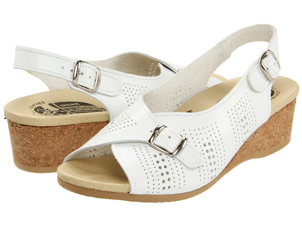 Worishofer - 562 (White) Women's Sling Back Shoes