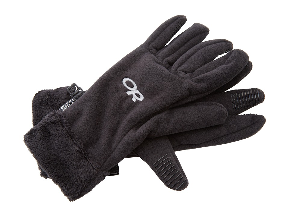 Outdoor Research - Fuzzy Gloves (Black) Extreme Cold Weather Gloves