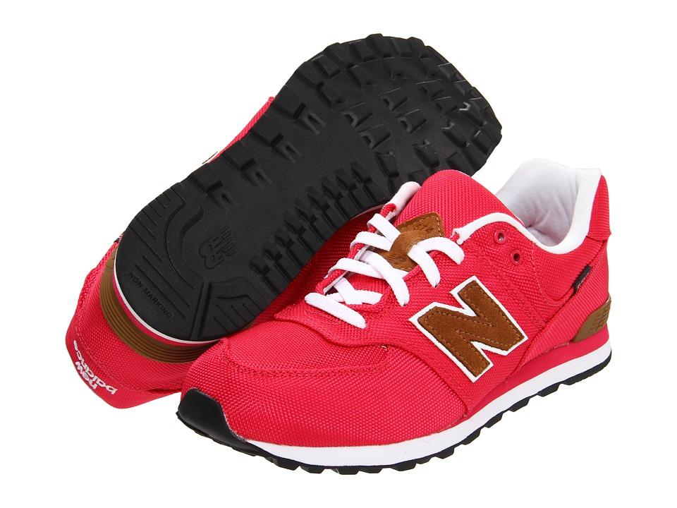New Balance Kids - KL574 (Big Kid) (Pink) Girls Shoes
