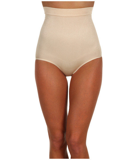 Maidenform - Control It#174; Shiny High Waist Brief (Nude) Women's Underwear
