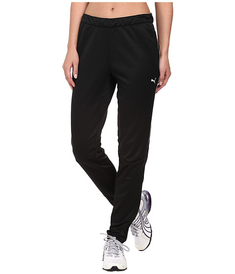 PUMA - Soccer Pant (Black-Black) Women's Workout