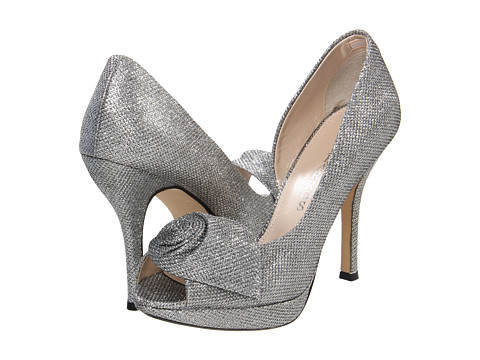 Caparros - Baldwin (Silver Sparkle) Women's Bridal Shoes