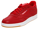 Reebok Club C Gum (Red/White/Gum) Men's Classic Shoes