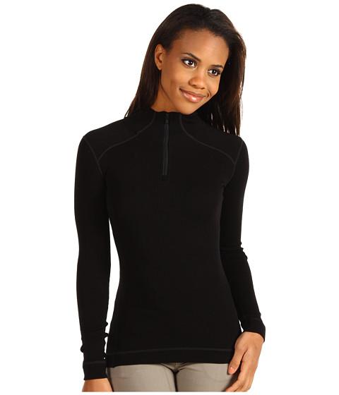 Smartwool - Midweight Zip T (Black) Women's T Shirt