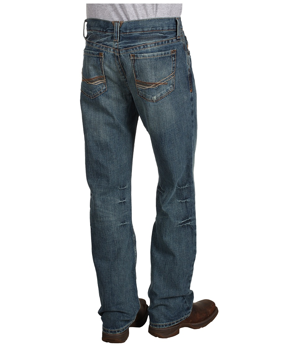 Ariat - M4 Low Rise Boot Cut in Scoundrel (Scoundrel) Men's Jeans