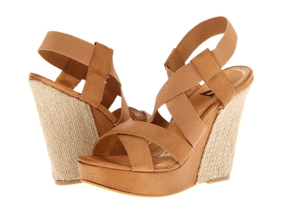 Type Z - Sina (Nude) Women's Wedge Shoes