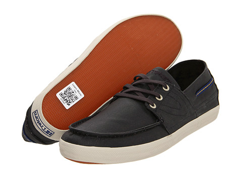Tretorn - Otto Wax Canvas (Anthracite) Shoes