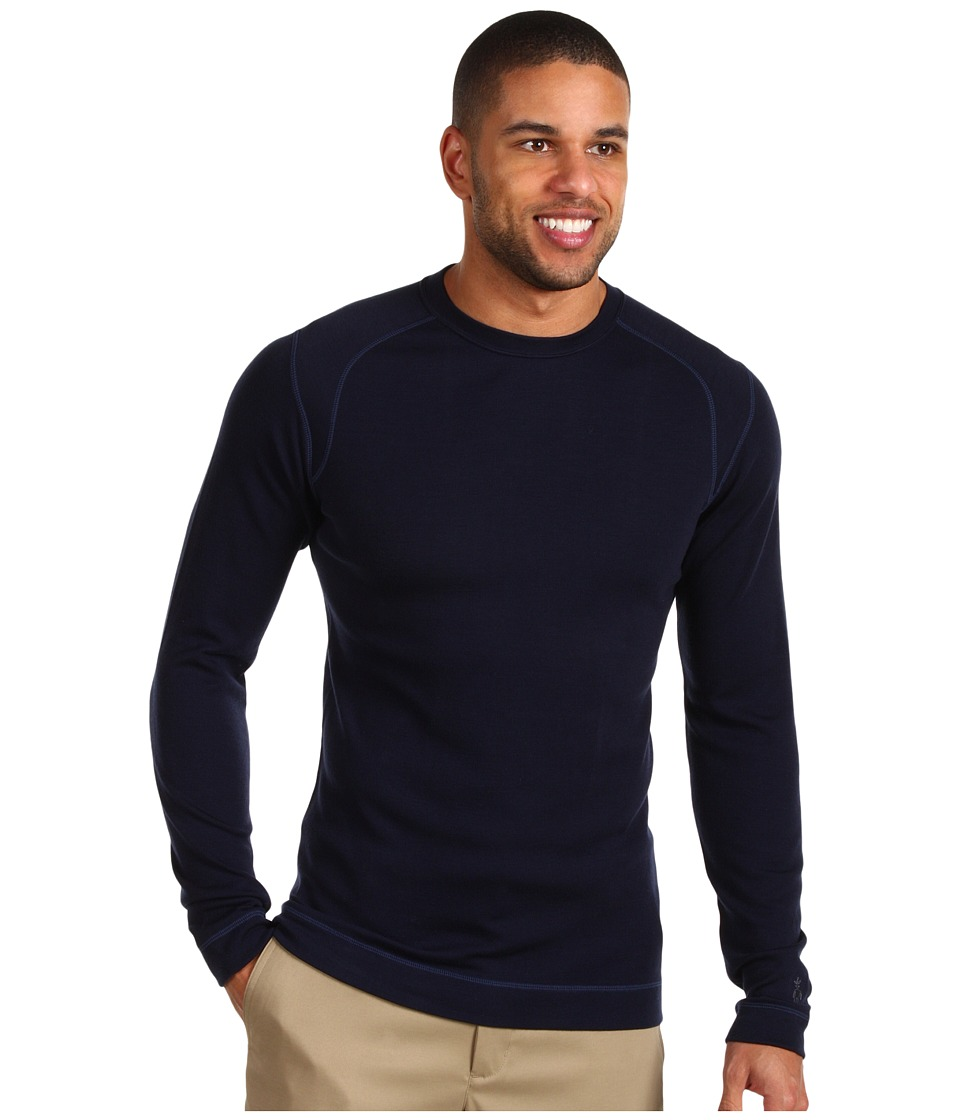 Smartwool - Midweight Crew Neck Shirt (Deep Navy) Men