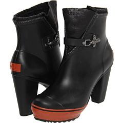 SOREL Medina Rain Heel (Black) Footwear