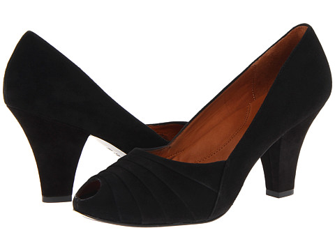Gentle Souls - Rem Gem (Black Suede) High Heels