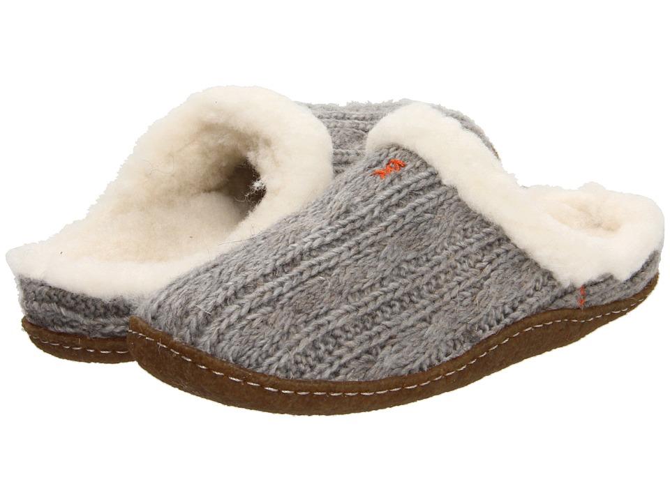 SOREL - Nakiska Slide Knit (Lux/Gum) Women's Slippers