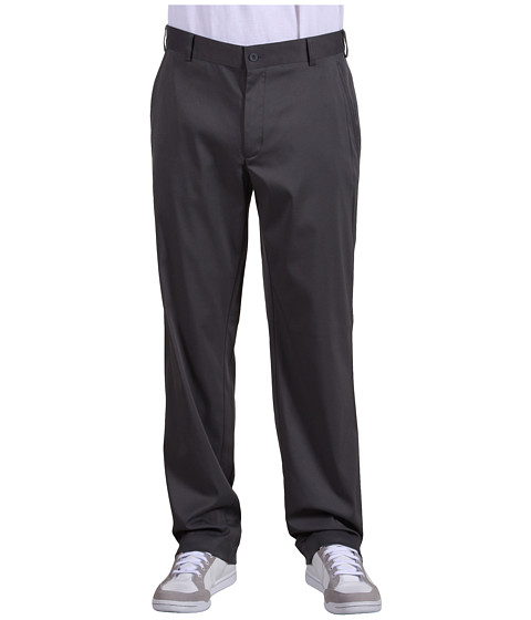 Nike Golf - Flat Front Tech Pant (Dark Grey) Men