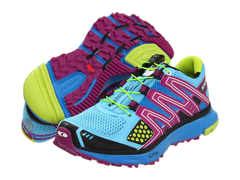 Salomon - XR Mission W (Score Blue/Very Purple) Women's Shoes