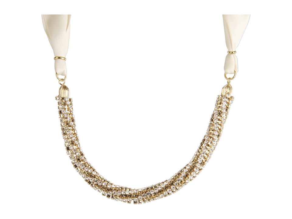 Nina - Jasmin Necklace (Ivory/Gold) Necklace