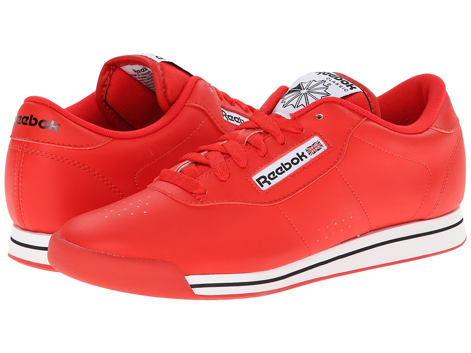 Reebok Lifestyle - Princess (Techy Red/White/Black) Women's Classic Shoes
