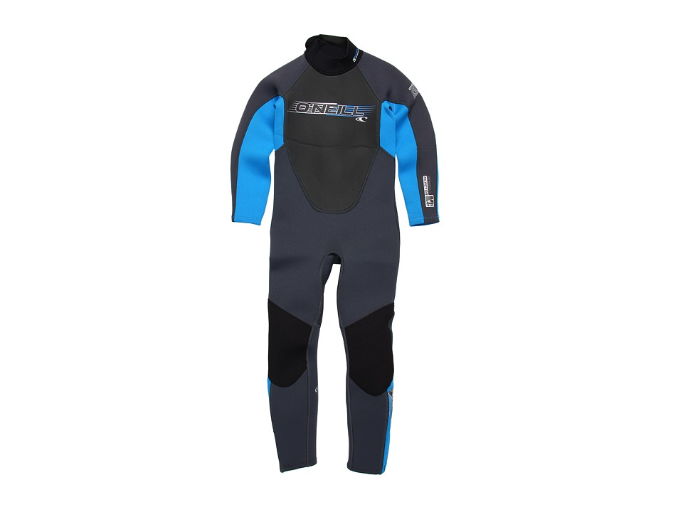 O'Neill Kids - Youth Reactor 3/2 Full (Little Kids/Big Kids) (Graphite/BriteBlue/Graphite) Boy's Swimwear
