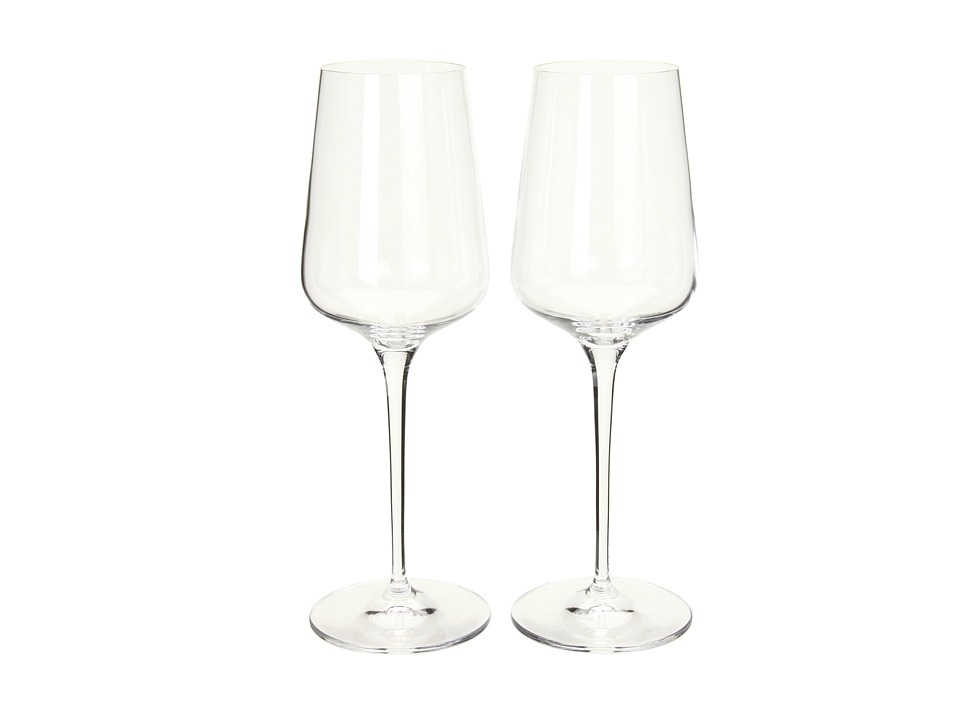 Spiegelau - Hybrid White Wine Two-Piece Gift Box (Clear) Glassware Cookware