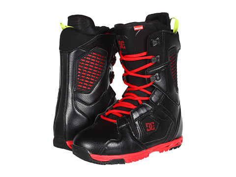 DC - Ceptor (Black/Red) Men's Snow Shoes