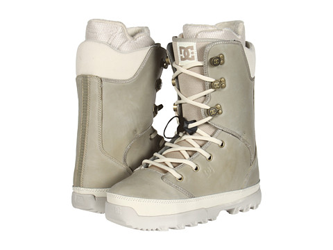 DC - Unit (Light Grey) Men's Snow Shoes