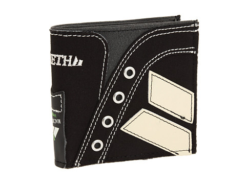 Macbeth - Eliot Wallet (Black/Cement) Bi-fold Wallet