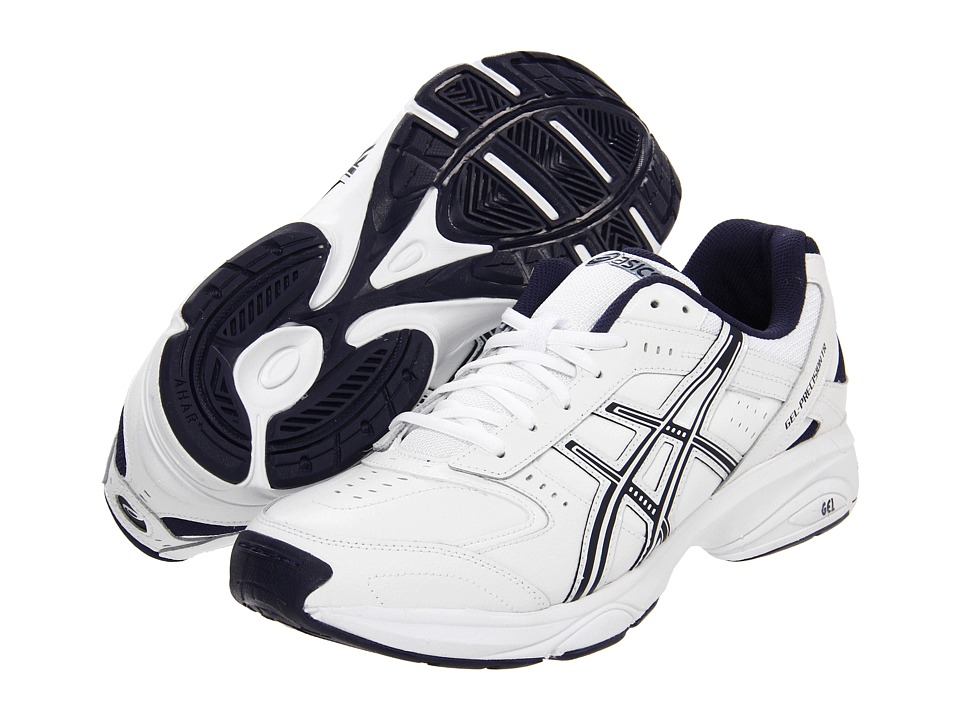 ASICS - GEL-Precision TR (White/Navy/Silver) Men