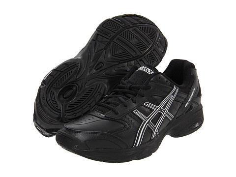 ASICS - GEL-Precision TR (Black/Black/Silver) Men's Cross Training Shoes