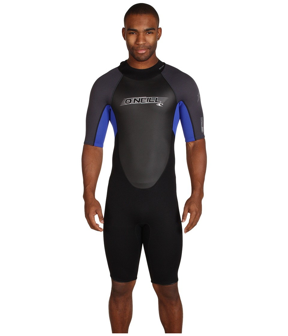 O'Neill - Reactor Spring 11 (Black/Pacific/Graphite) Men's Wetsuits One Piece