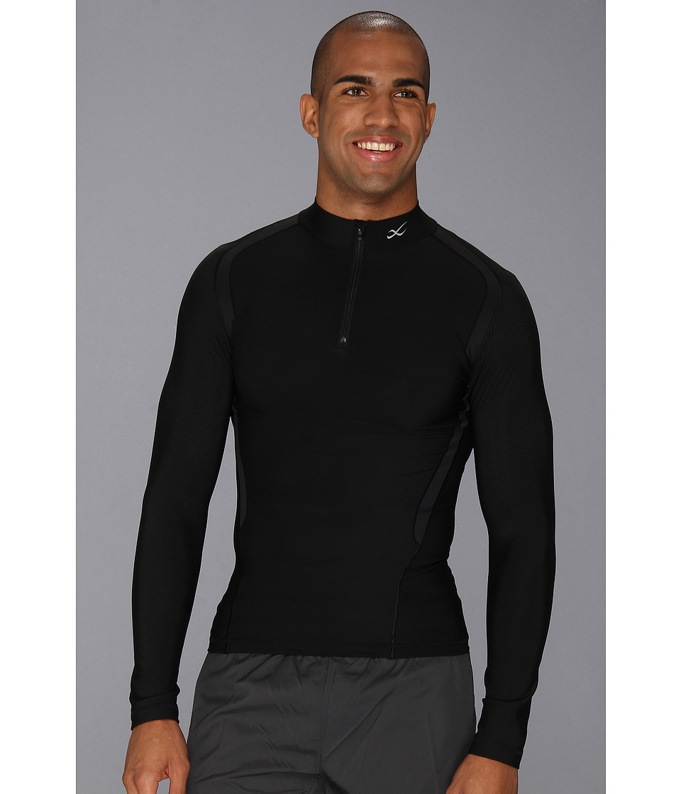 CW-X - Insulator Web Top (Black) Men's Long Sleeve Pullover