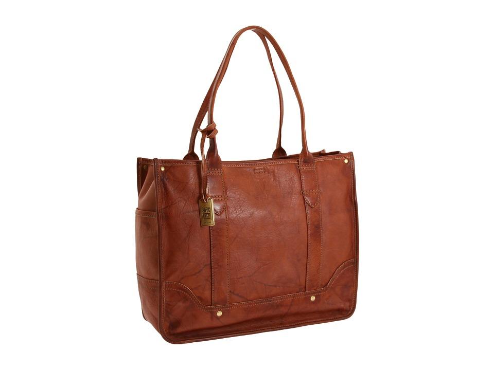 Frye - Campus Shopper (Saddle) Tote Handbags