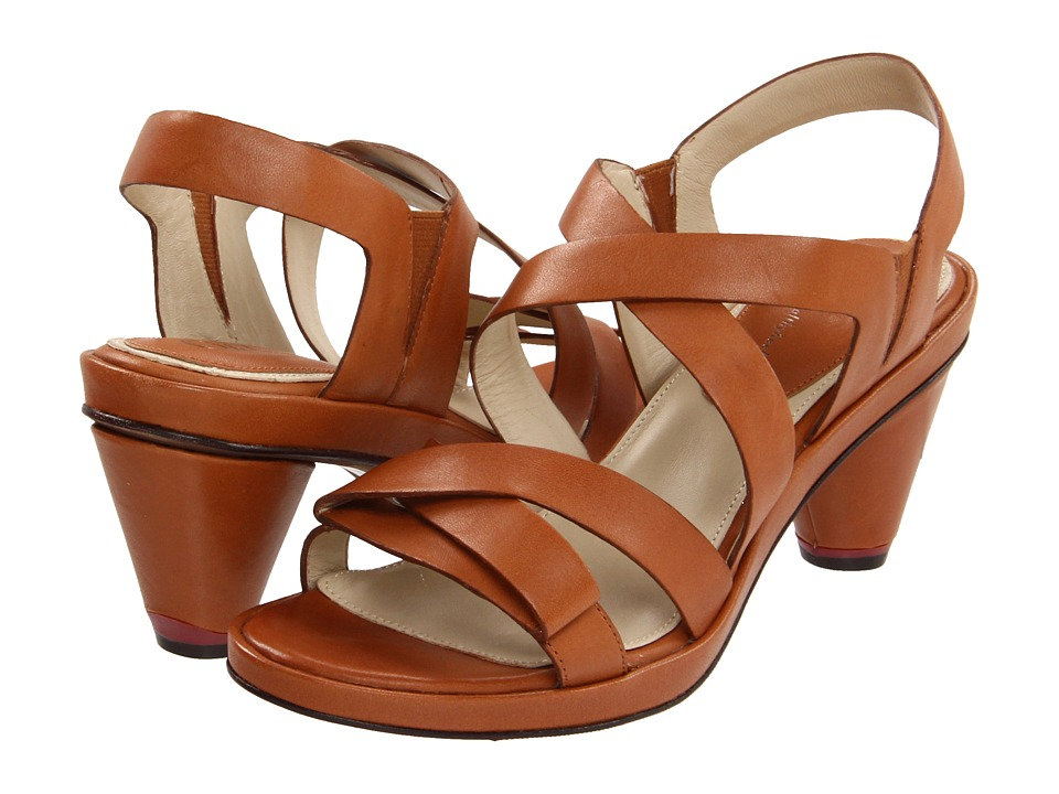 Oh! Shoes - Denise (Cedar Vachetta Calf) Women's Sandals