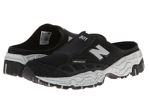 New Balance Classics - M801 Clog (Black/Grey) Men