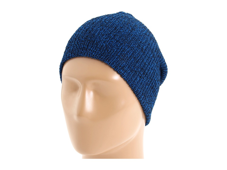 Neff - Daily Heather Beanie (Black/Blue) Beanies