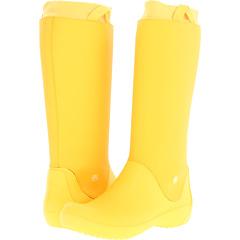 Crocs Rainfloe Boot (Canary Canary) Footwear