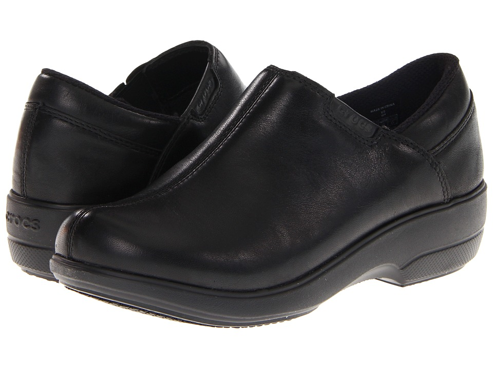 Crocs - Work Chelea Shoe (Black/Black) Women's Shoes