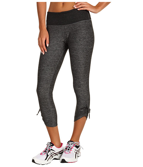 Moving Comfort - Urban Gym Capri (Black Space Dye) Women