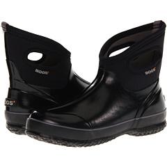 Bogs Classic Short Solid (Black) Footwear