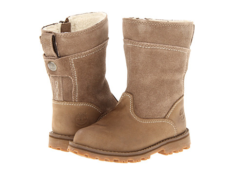 Timberland Kids - Earthkeepers Asphalt Trail Forestdale Waterproof Tall Boot (Infant/Toddler) (Beige) Girls Shoes