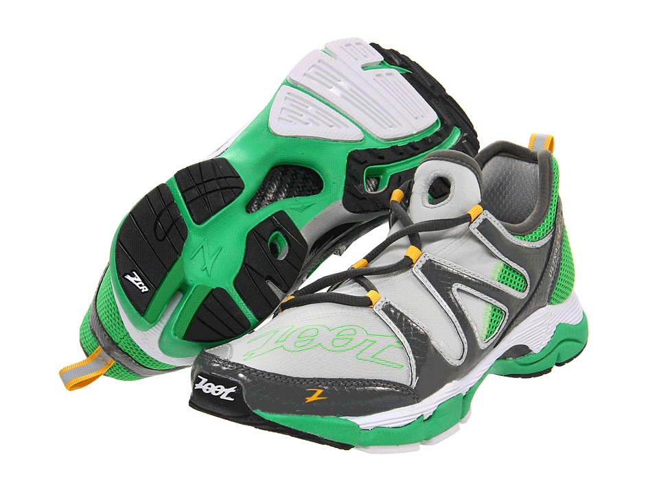 Zoot Sports - Ultra Kane 3.0 (Light Grey/Graphite/Green Lantern) Men