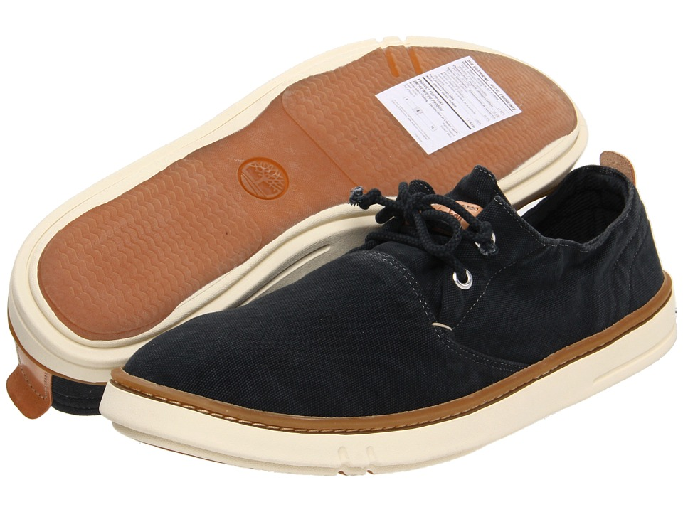 Timberland - Earthkeepers Hookset Oxford (Washed Black Canvas) Men