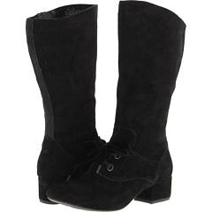 Born Rinay Crown Collection (Nero Suede) Footwear
