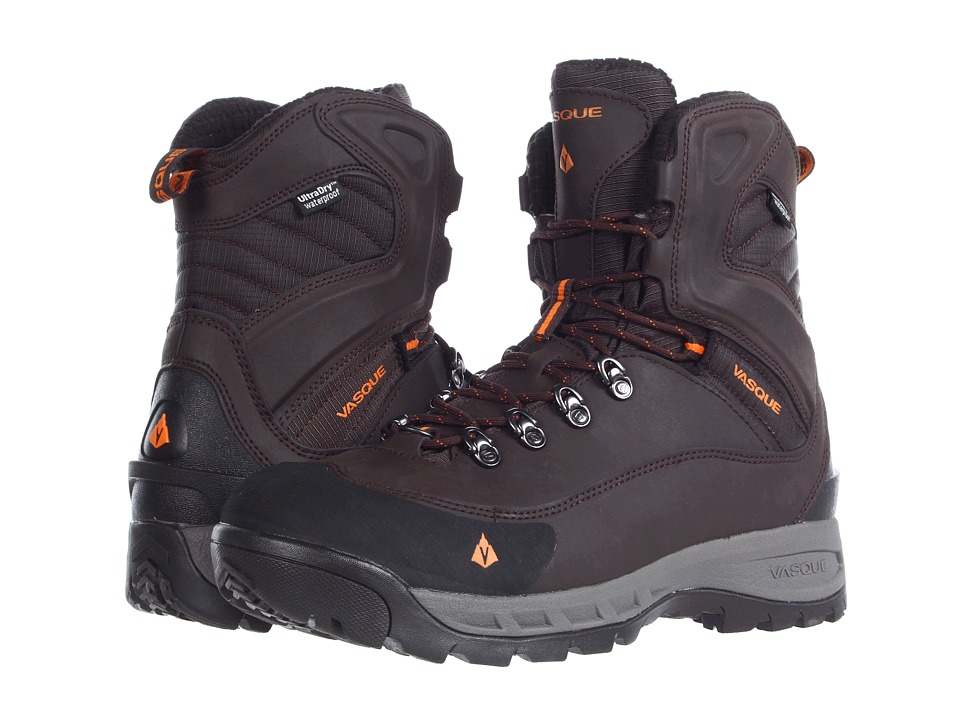 Vasque - Snowburban UltraDry (Turkish Coffee/Russet Orange) Men's Cold Weather Boots