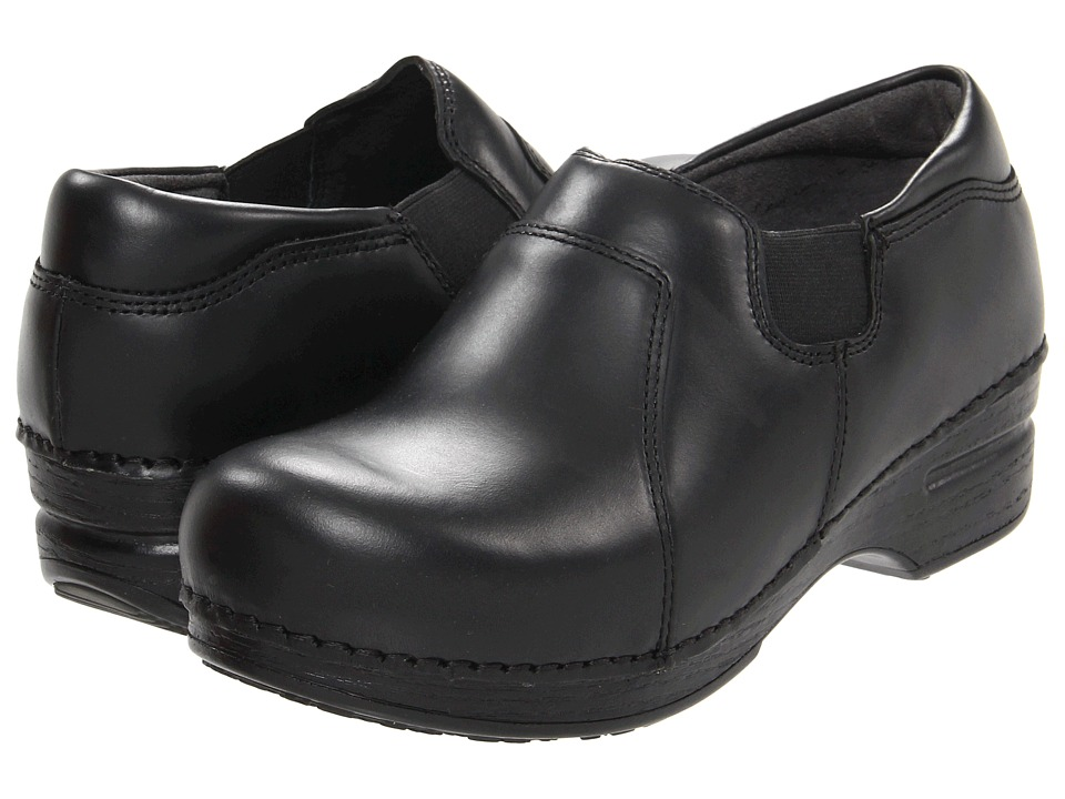 Dansko - Tatum (Ebony Pull-Up) Women's Clog Shoes
