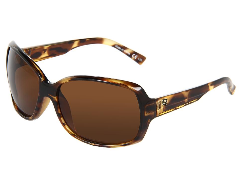 VonZipper - Ling Ling (Tort/Bronze) Sport Sunglasses
