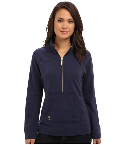 Lilly Pulitzer - Skipper Popover Solid (True Navy) Women's Sweatshirt