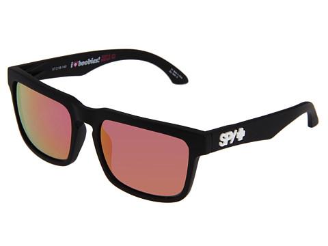 Spy Optic - Helm (Spy/Keep A Breast/Grey w/ Pink Spectra) Fashion Sunglasses