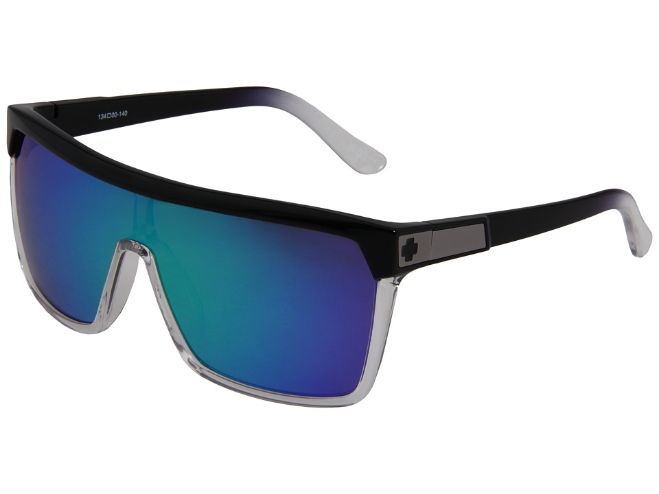 Spy Optic - Flynn (Classic Fade/Grey w/Green Spectra) Sport Sunglasses