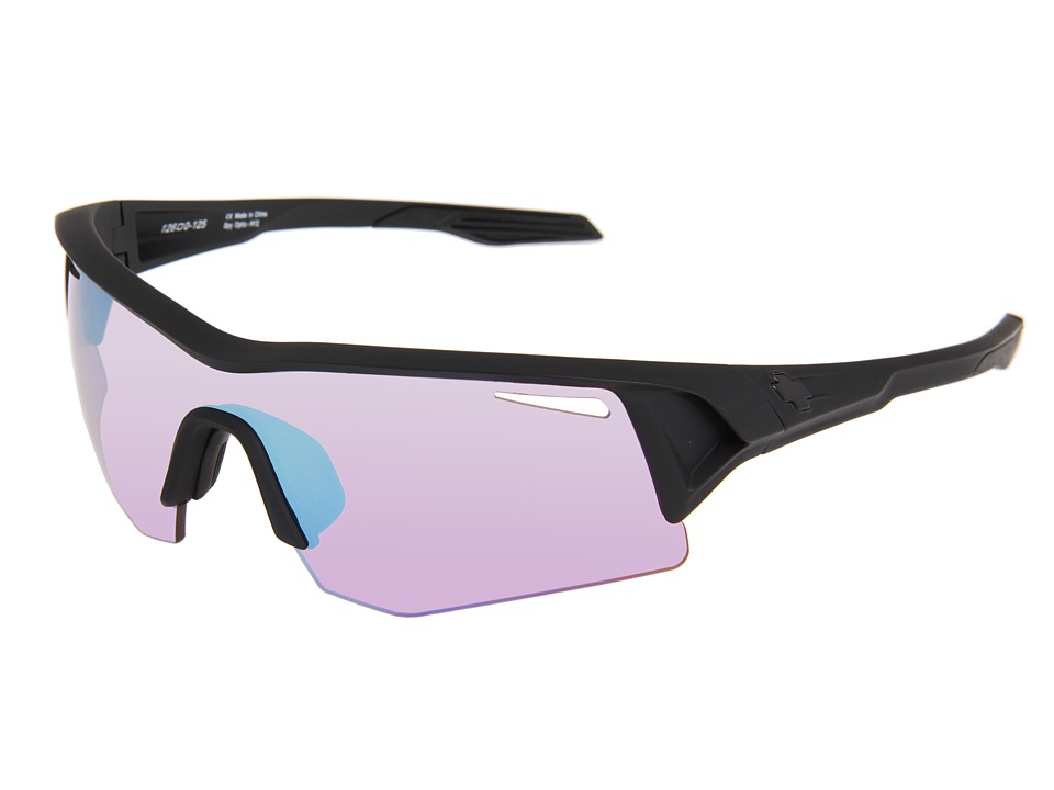Spy Optic - Screw (Matte Black/Rose Contact (Bronze)) Fashion Sunglasses